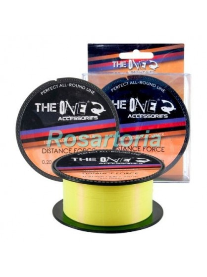 Fir monofilament Distance Force Galben - The One