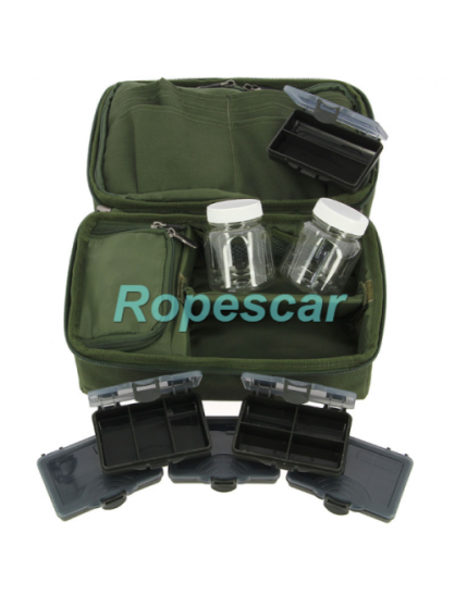 "Geanta Accesorii ""Complete Rigid Carp Rig Pouch System (850)"" - NGT"
