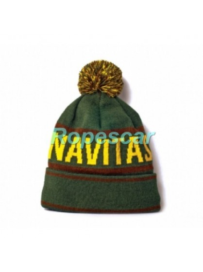 Caciula Bobble Beanie Green - Navitas