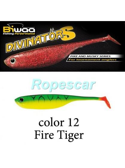 Shad Divinator 10 cm. Fire Tiger - Biwaa
